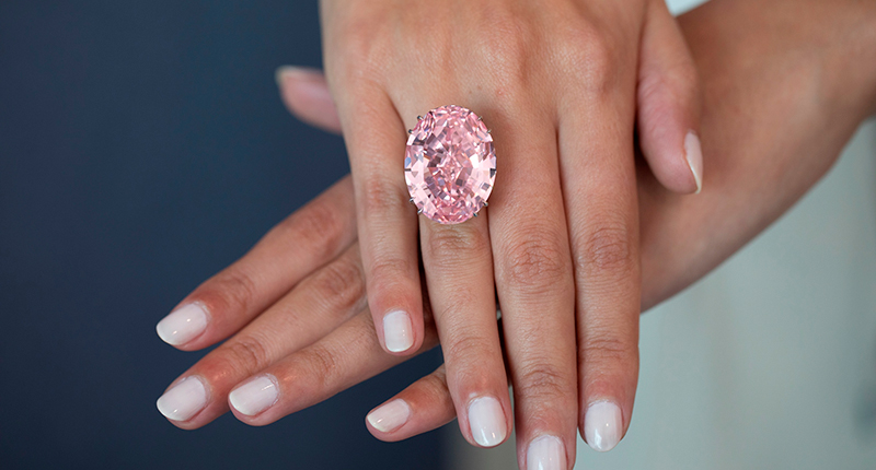 The 60-Carat 'Pink Star' Will Return to Auction Next Month