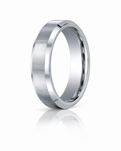 Cobalt Chrome Ring, 6mm