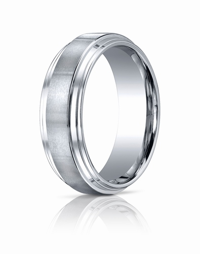 Cobalt Chrome Ring, 8mm
