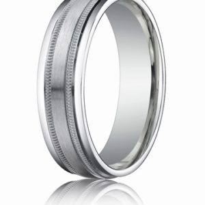 6mm Comfort Fit Gold Wedding Band