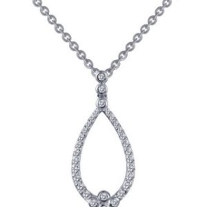 Free-Form Pendant on Chain