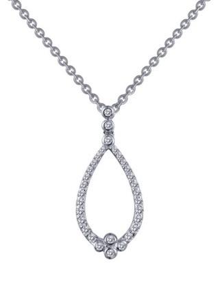 Lafonn Free-Form Pendant on Chain