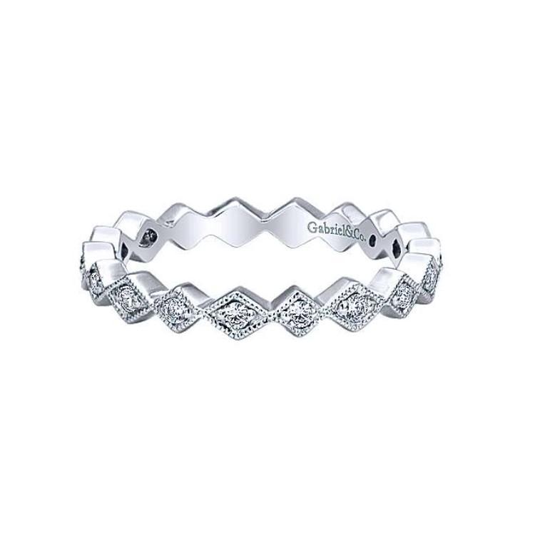 Diamond Stackable Band