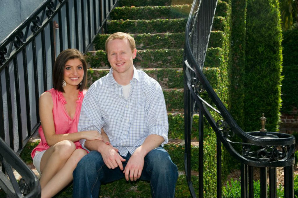 Brad and Caroline