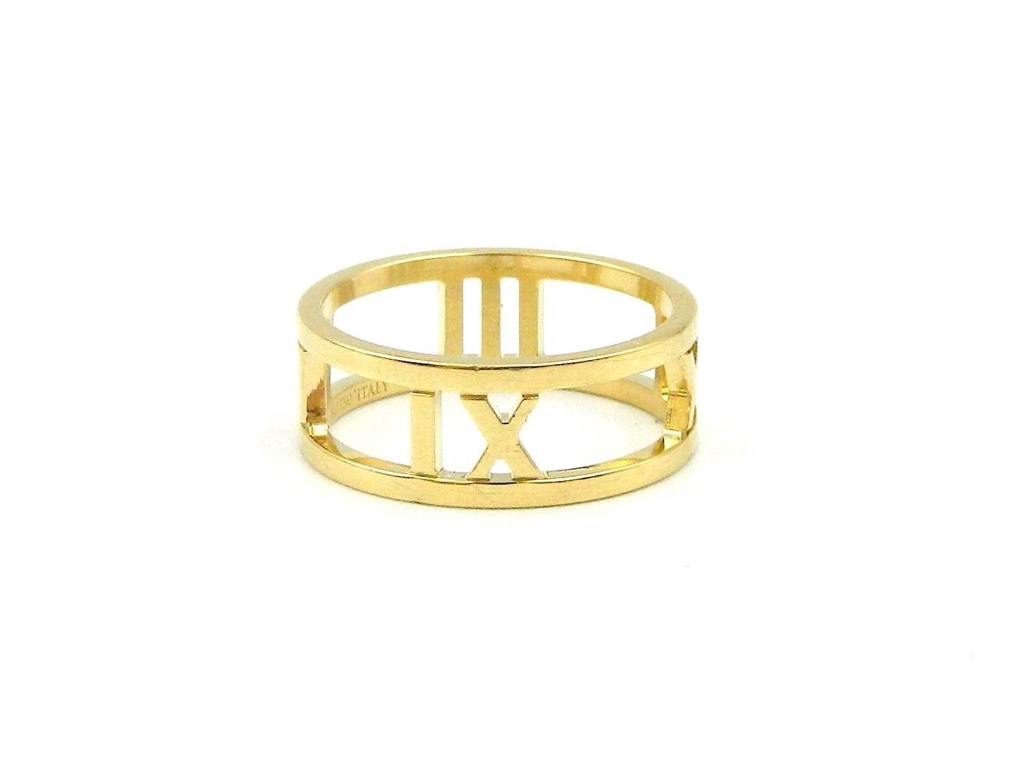 Estate Piece - Tiffany's Yellow Gold Atlas Ring