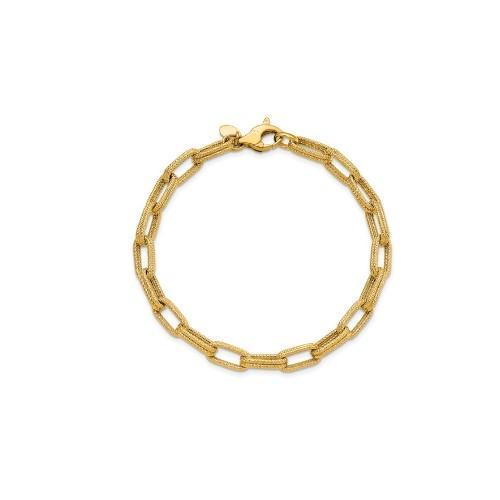 Leslie's Yellow Gold Link Bracelet