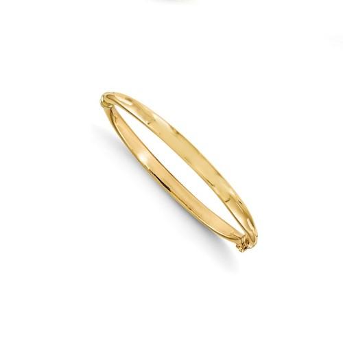 Leslie's Yellow Gold Bangle Bracelet