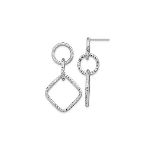 Leslie's Rhodium-Plated Sterling Silver Earrings