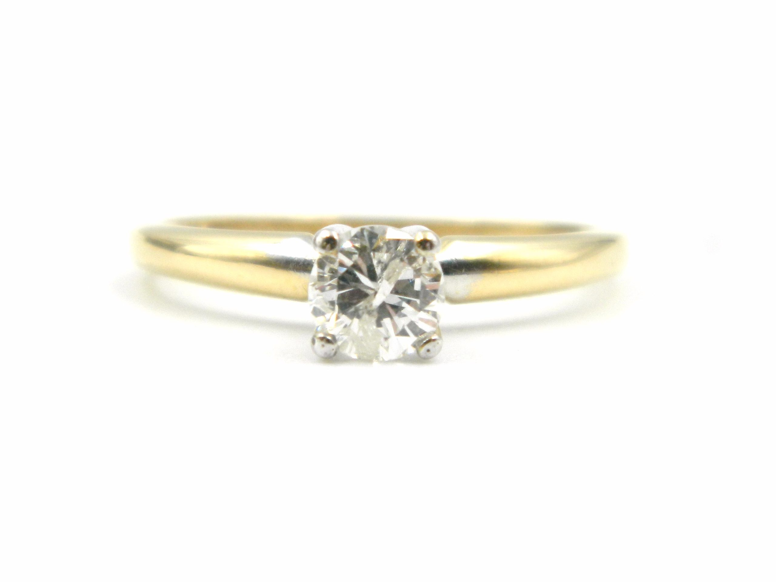 Estate Piece - Yellow Gold Diamond Engagement Ring