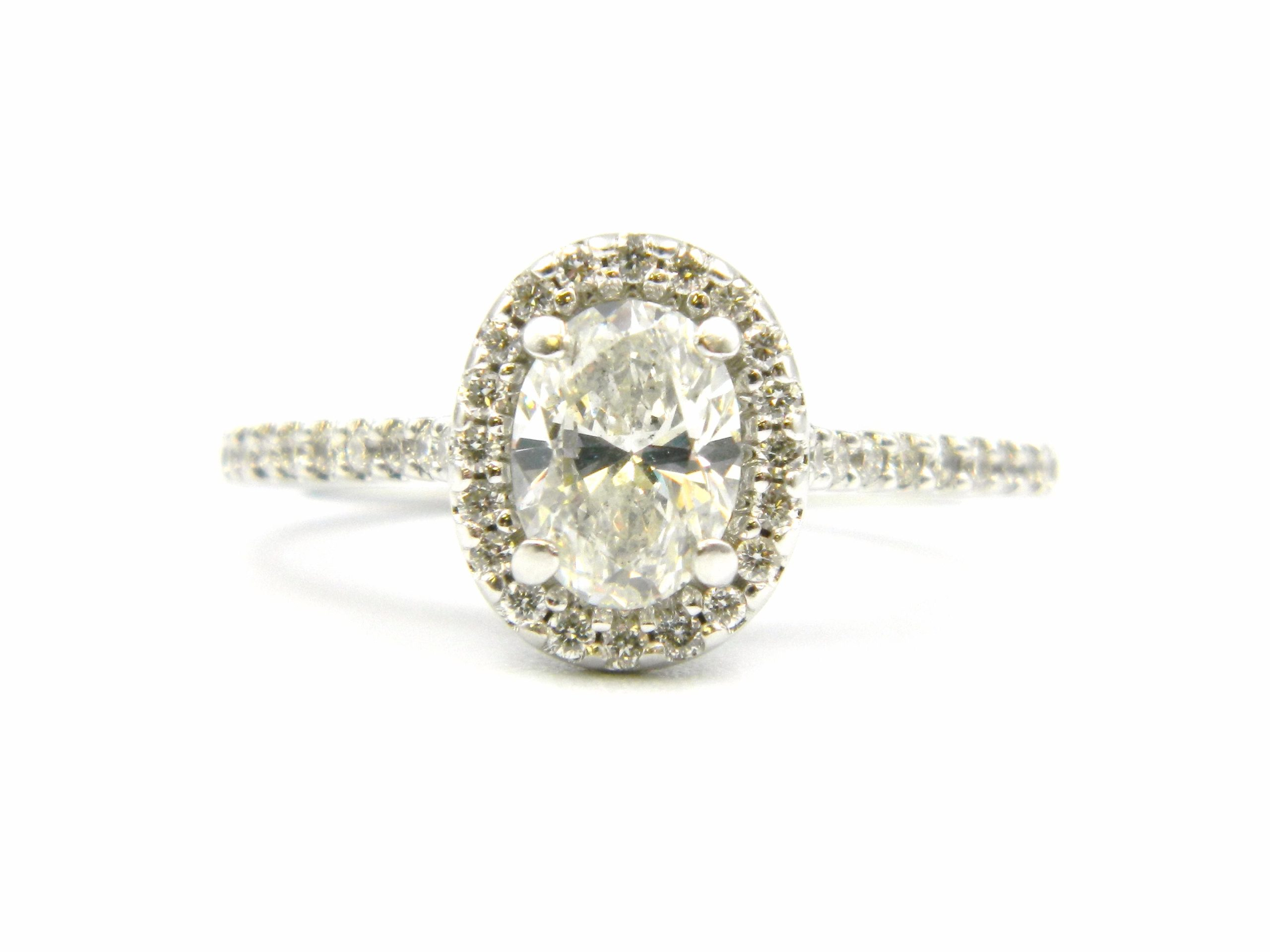 Estate Piece - White Gold Diamond Engagement Ring